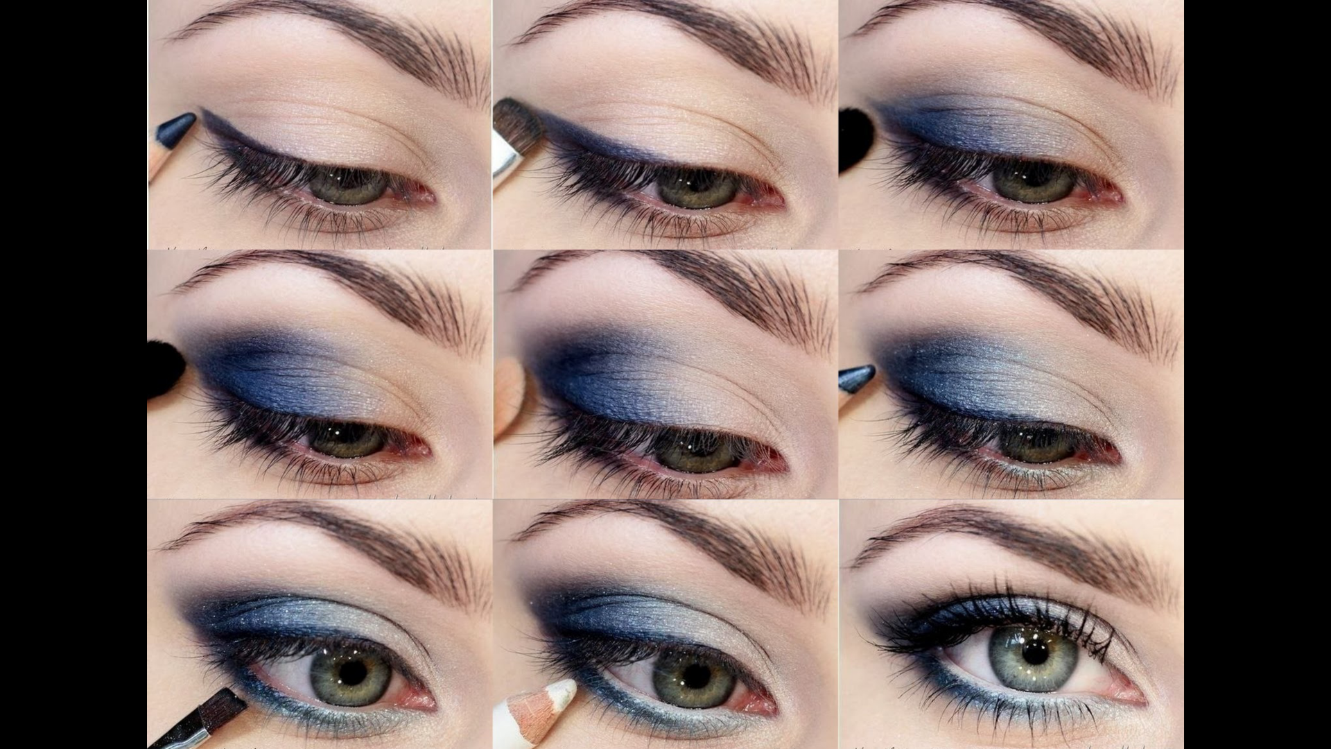 Makeup tips for blue