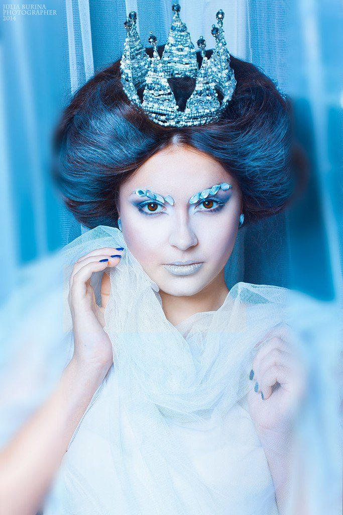 Прическа снежной королевы