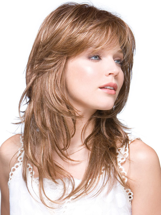 Стрижки на среднюю длину волос.каскад