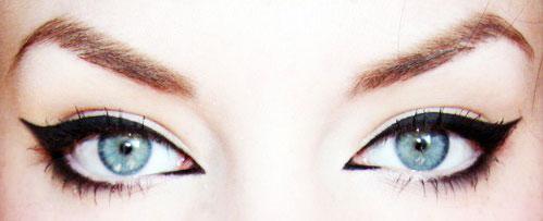 Макияж Кошачий глаз: пошаговые фото, видео. Техника макияжа 77