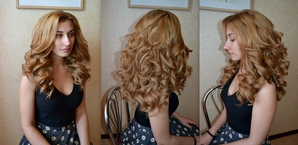 Как сделать объёмные волнистые волосы