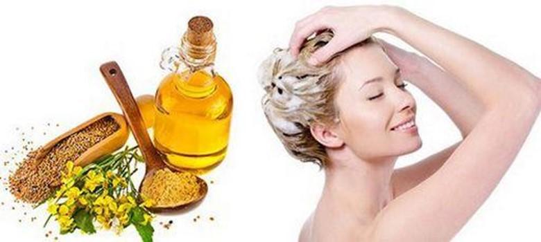 Маска для волос с горчицей против выпадения